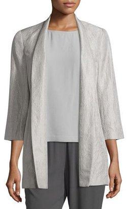 Eileen Fisher Mirage 3/4-Sleeve Jacket $418 thestylecure.com