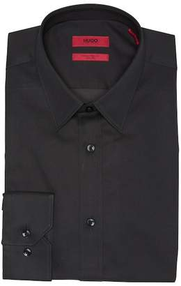 BOSS Solid Extra Slim Fit Dress Shirt