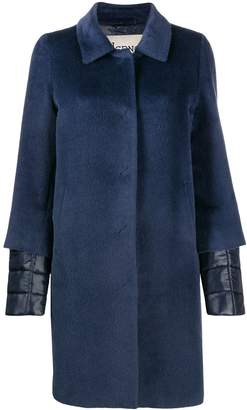Herno padded wool coat
