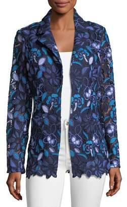 Berek Provence Floral Lace Jacket, Plus Size