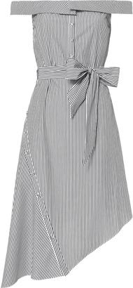 Exclusive for Intermix Nicolette Asymmetric Off-The-Shoulder Dress