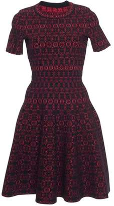 Alaia Azzedine Floral Fit and Flare Dress