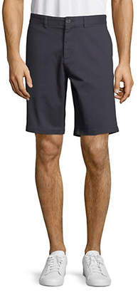 Black Brown 1826 Stretch Twill Shorts