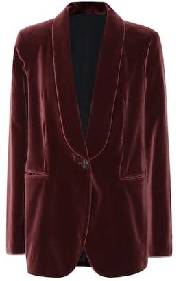 Brunello Cucinelli Velvet cotton blazer