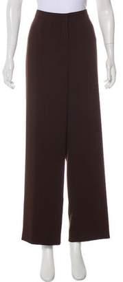 Yansi Fugel High-Rise Wide-Leg Pants
