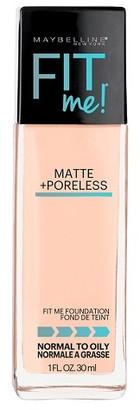 Maybelline® FIT ME!® Matte + Poreless Foundation $4.99 thestylecure.com