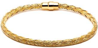 Durrah Jewelry - Gold Woven Bracelet For Him