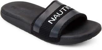 a6e4f71cd65a Nautica Black Envoy-2 Slide Sandals