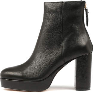 Wanted Vascoe Black Boots Womens Shoes Ankle Boots
