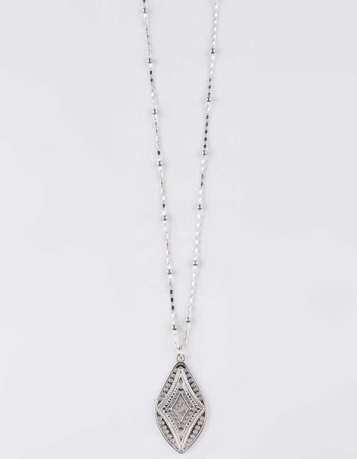 Full Tilt Stone Pendant Necklace
