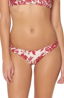 Red Carter Reversible Hipster Bikini Bottoms