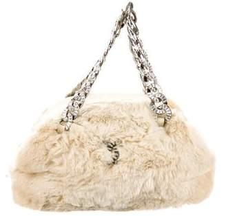 Chanel Fur Handle Bag