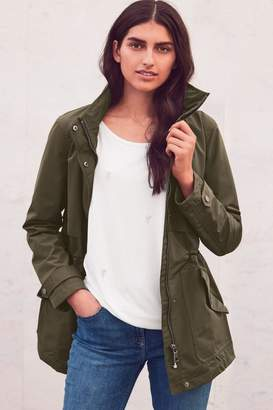 Next Womens Khaki Rain Mac - Green