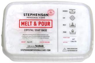 Stephenson Cybrtrayd Vegan and Kosher SLS-Free Glycerin Melt and Pour Soap Base, 2-Pound, White
