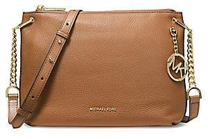 MICHAEL Michael Kors Women's Large Lillie Pebbled Leather Messenger Bag