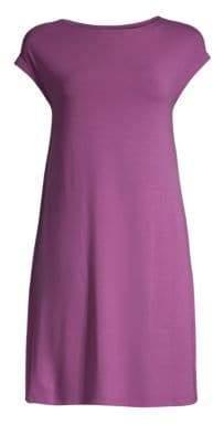 Eileen Fisher Cap-Sleeve Tunic