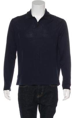 Malo Long Sleeve Polo Shirt