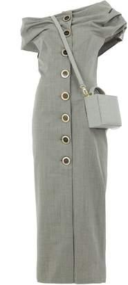 Natasha Zinko fitted square bag dress