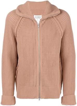 Maison Margiela zipped longsleeved sweater