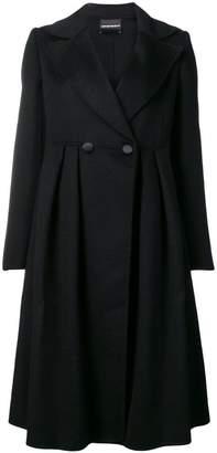 Emporio Armani buttoned midi coat