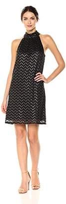 Trina Turk Trina Women's Morrison Dress, Black/Gold, XS