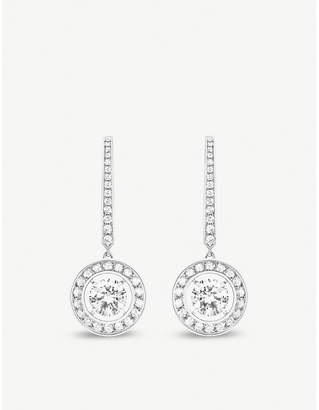 Boucheron Ava 18ct white-gold and diamond earrings