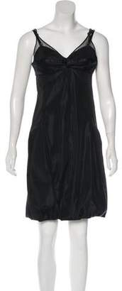 Balenciaga Sleeveless Knee-Length Dress