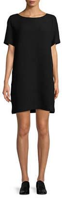 Eileen Fisher Jacquard T-Shirt Dress
