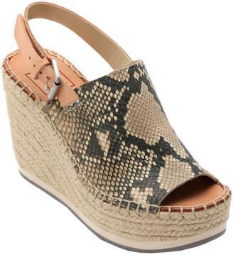 Dolce Vita Shan Leather Wedge Sandal
