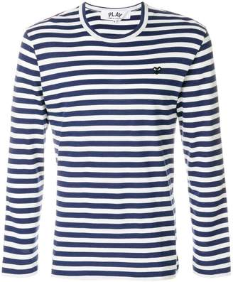 Comme des Garcons striped T-shirt