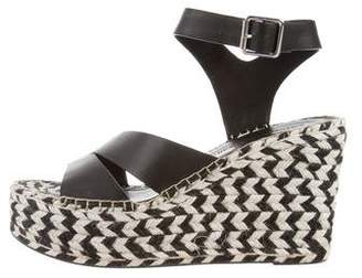 Sigerson Morrison Espadrille Wedge Sandals