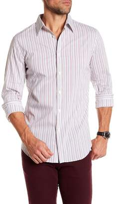 Perry Ellis Striped Regular Fit Shirt