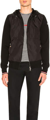 Moncler Maglia Cardigan Jacket in Black | FWRD