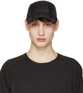 Y-3 Black Fold Cap $75 thestylecure.com
