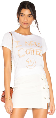 Lauren Moshi Janie I Need Coffee Tee $88 thestylecure.com