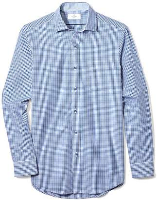 Buttoned Down Men's Classic Fit Supima Cotton Spread-Collar Dress Casual Shirt