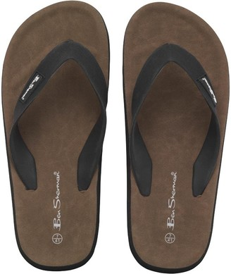 Ben Sherman Dune Sandals Black