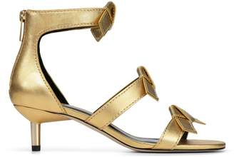 Donald J Pliner CADY, Metallic Leather Sandal