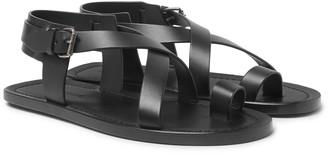 Saint Laurent Nu Pieds Leather Sandals