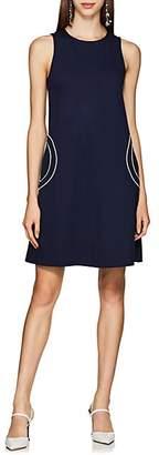 Lisa Perry Women's Recess Ponte A-Line Dress - Navy