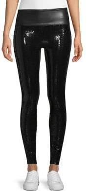 Spanx High-Waist Sequin Leggings