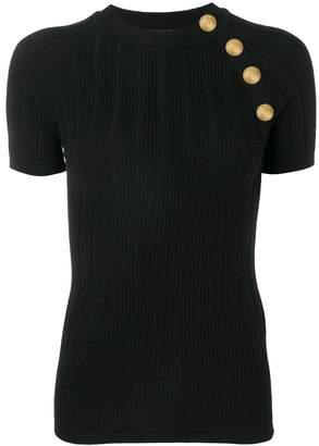 Balmain knitted T-shirt top