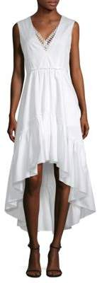 Elie Tahari Sondra Hi-Lo Dress