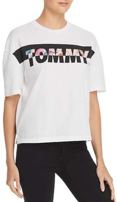 Tommy Jeans Floral Logo Tee