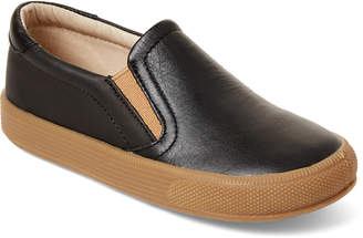 Old Soles Toddler/Kids Boys) Distressed Black Dress Hoff Slip-On Sneakers