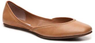 Women's Steve Madden Azika Ballet Flat -Cognac $80 thestylecure.com