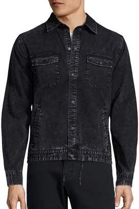 Madison Supply Men's Long Sleeve Denim Jacket