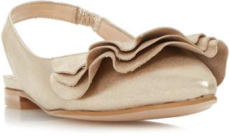 Dune LADIES CANDY - Ruffle Detail Flat Shoe