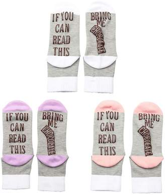 RTWAY Socks Letter Print IF YOU CAN READ THIS Novelty Funny Socks foren Woen