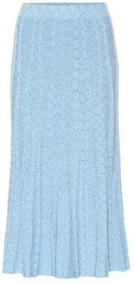 Altuzarra Gabbiano jersey midi skirt